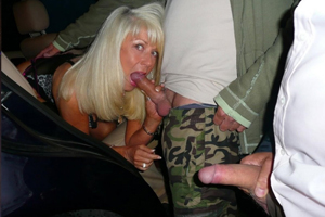 Slutty mature 4some